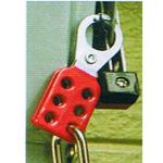 贝迪安全锁具 钢制锁具搭扣 叉钳直径2.5CM 105718