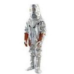 代尔塔 隔热连体服不带呼吸器背囊 402017 隔热连体套装 镀铝涂层阻燃复合面料 铝色