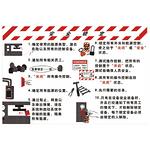 安全宣传 安全宣传看板 安全锁定 标志牌