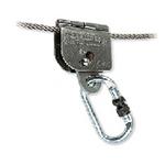 霍尼韦尔 1002869 自动钢缆抓绳器 个人防护 防坠落用品 抓绳器 劳保用品