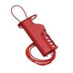 贝迪安全锁具 全能型缆锁 配2.4M绝缘尼龙线 50941
