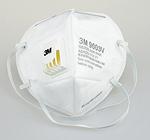 折叠式带阀颗粒物防护口罩 耳带式 3M 9003V 口罩 劳保口罩 防病菌口罩 防毒口罩 防护口罩 呼吸防护