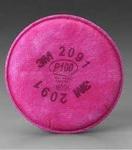 6000&7000系列 P100滤棉 防颗粒物 2片/包 3M 2091 劳保滤盒 防病菌滤盒 防护滤盒 防尘滤盒