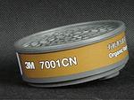 7700系列 有机气体滤毒盒 3M 7001CN 防病菌滤盒 防护滤盒 防尘滤盒 呼吸防护 正品原装 劳保专用