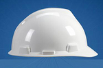 V-Gard 梅思安优越型安全帽 9141418 ABS帽壳+轻旋风帽衬+D型下颏带+针织布吸汗带 工地帽 防护帽 工作帽